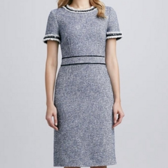 Tory Burch Dresses & Skirts - Tory Burch Rosemary fitted tweed dress